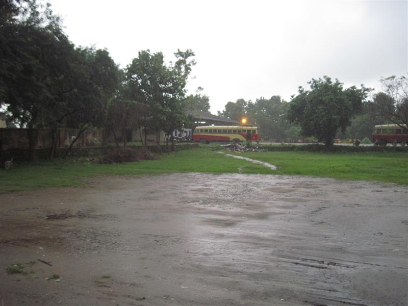 KSRTC Bus Stand Puzhampalam