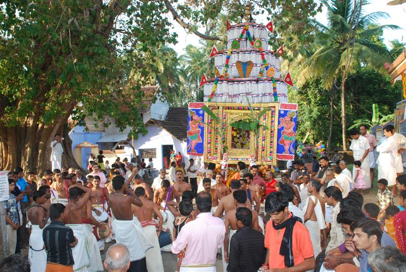 Panchavadhyam and Ratham