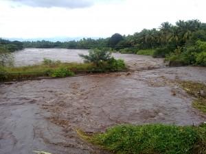 Chittur Puzha Overflowing