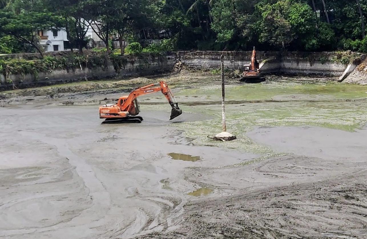 Tattamangalam Perumkulam Repair & Renovation Started